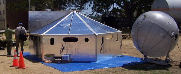 Hexayurt Project Design For Disaster Aid Victims