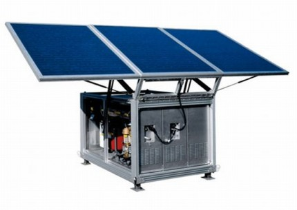 Solar and Wind Power Water Purification and Desalination