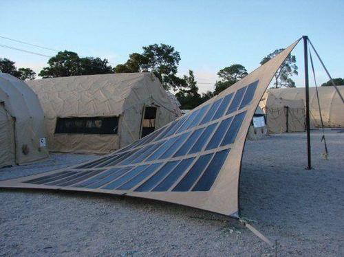 PowerMod solar tent & PowerMod solar tent : Design for disaster u2013 aid victims ...