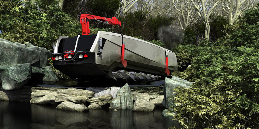 screwvehicleoffroad design for disaster � aid