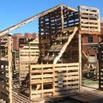 PALLET HOUSE WORKSHOP - ball state, muncie, indiana