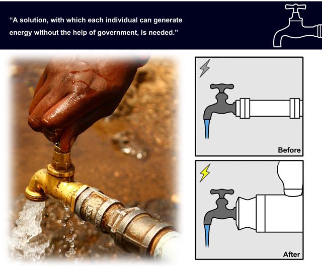 Как получит силу воды в домашних условиях