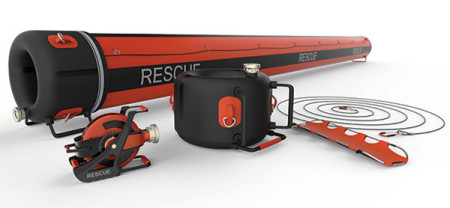 Air Rope - Inflatable Rescue Tunnel for Flood Situations by Lee Jee Won, Lee Yong Ho, Lee Juan