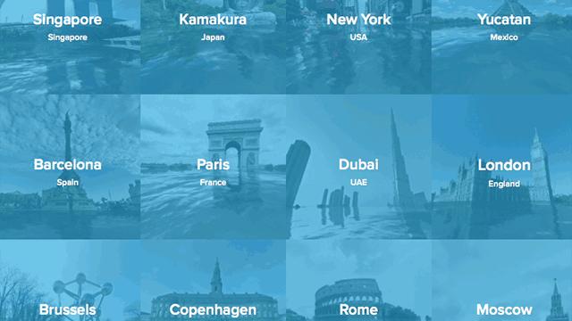 under water cities