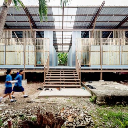 Baan Honghua school by Jun Sekino. Photography © Spaceshift Studio