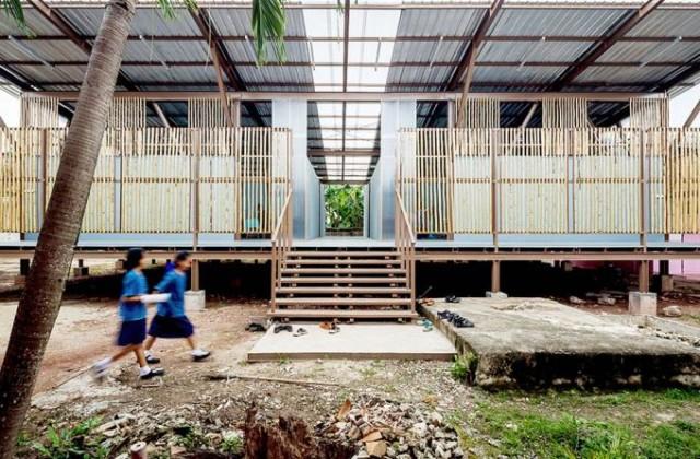 Baan Honghua school by Jun Sekino. Photography © Spaceshift Studio